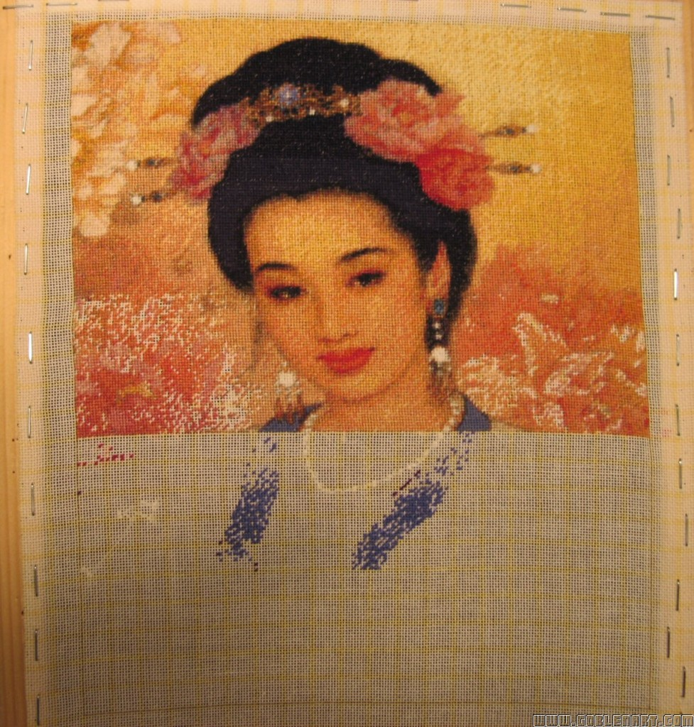 Chinese beauty 3 -sewing period