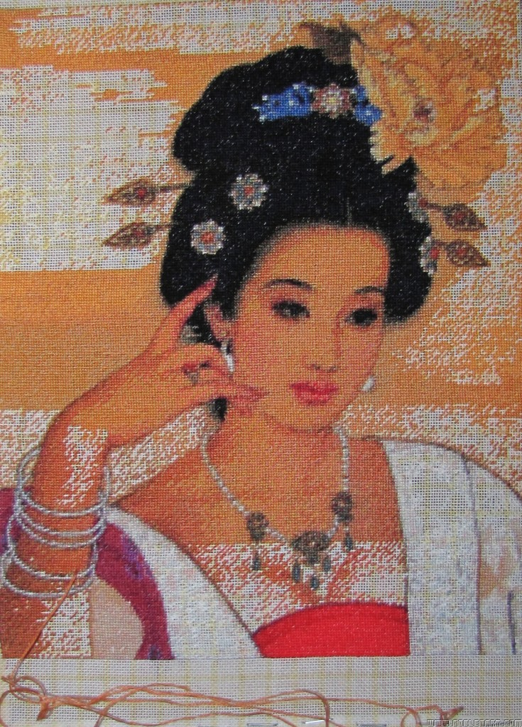 Chinese beauty - sewing period