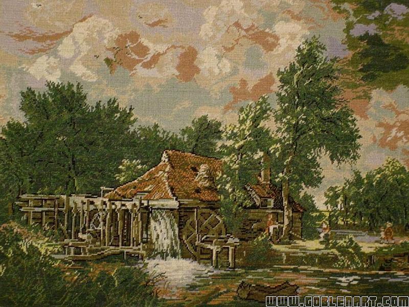 Dutch water mill