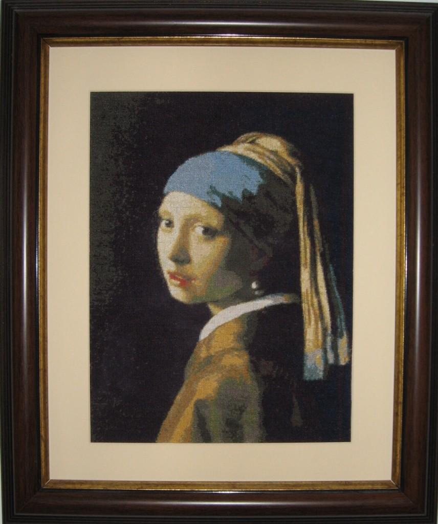Fata cu cercel de perla