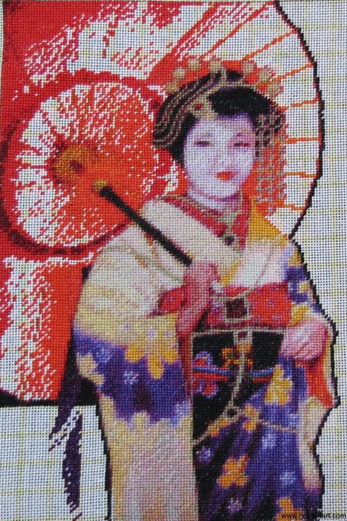 Geisha - sewing period