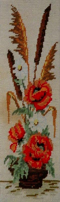 Ikebana with roses