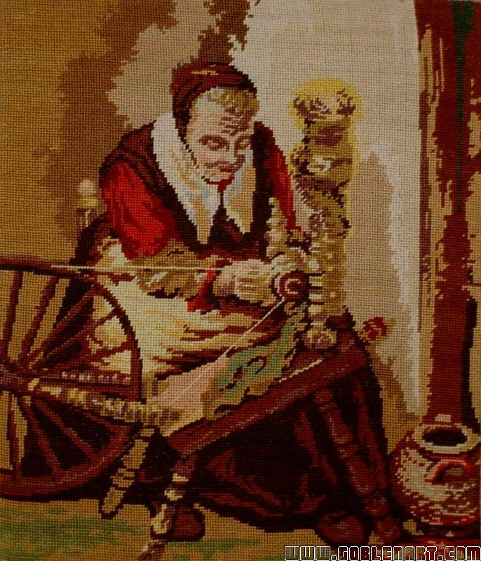 Woman spinning