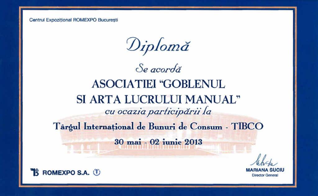 diploma participare tibco 2013