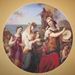 Miriam's song of praise - paspartu
