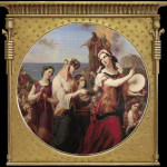 Miriam's song of praise - Cornel Rosca frame
