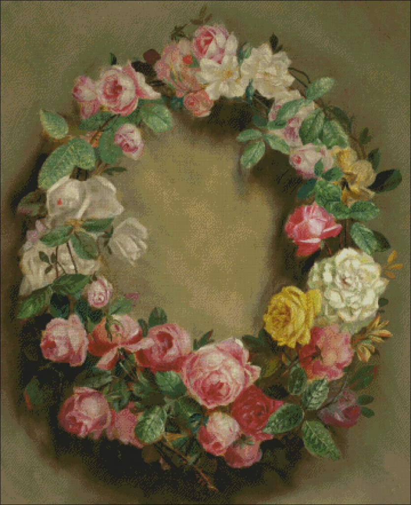 Renoir - Crown of roses - advanced