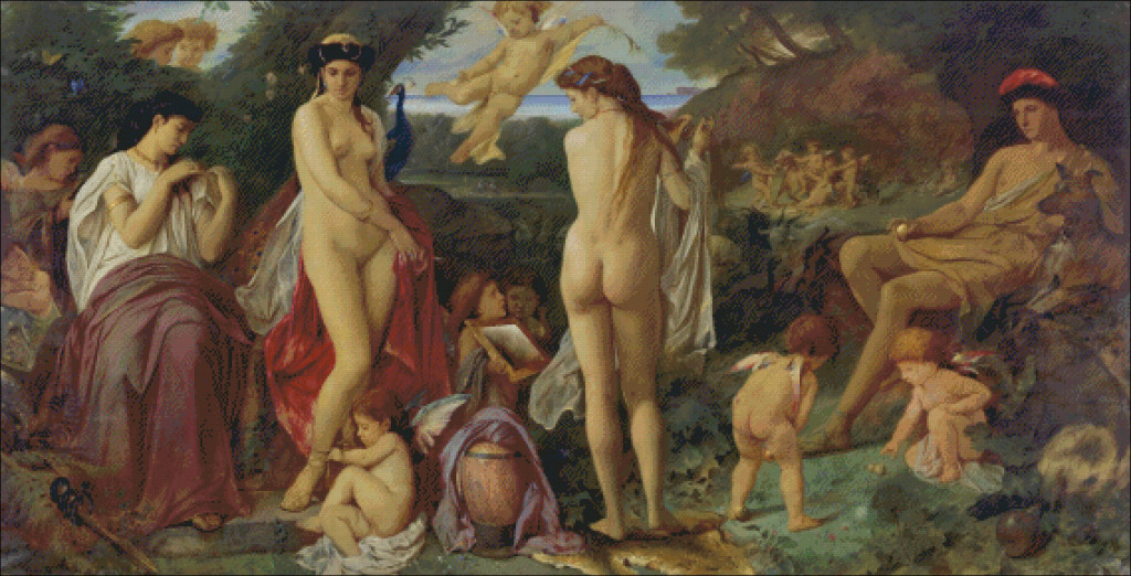 Anselm Feuerbuch - Judgement of Paris