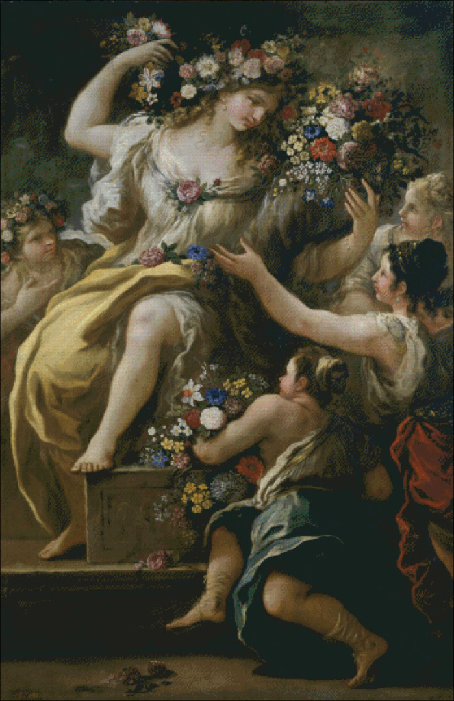 Flora by Luca Giordano