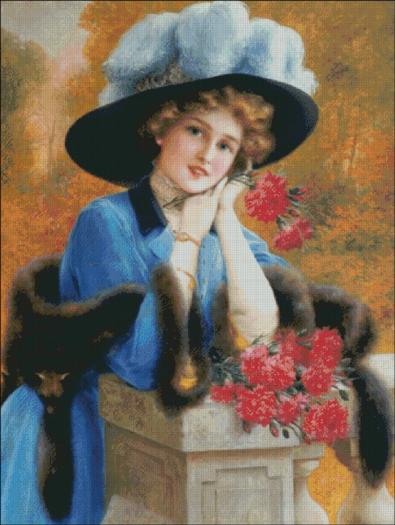 Carnations are for Love - Emile Vernon