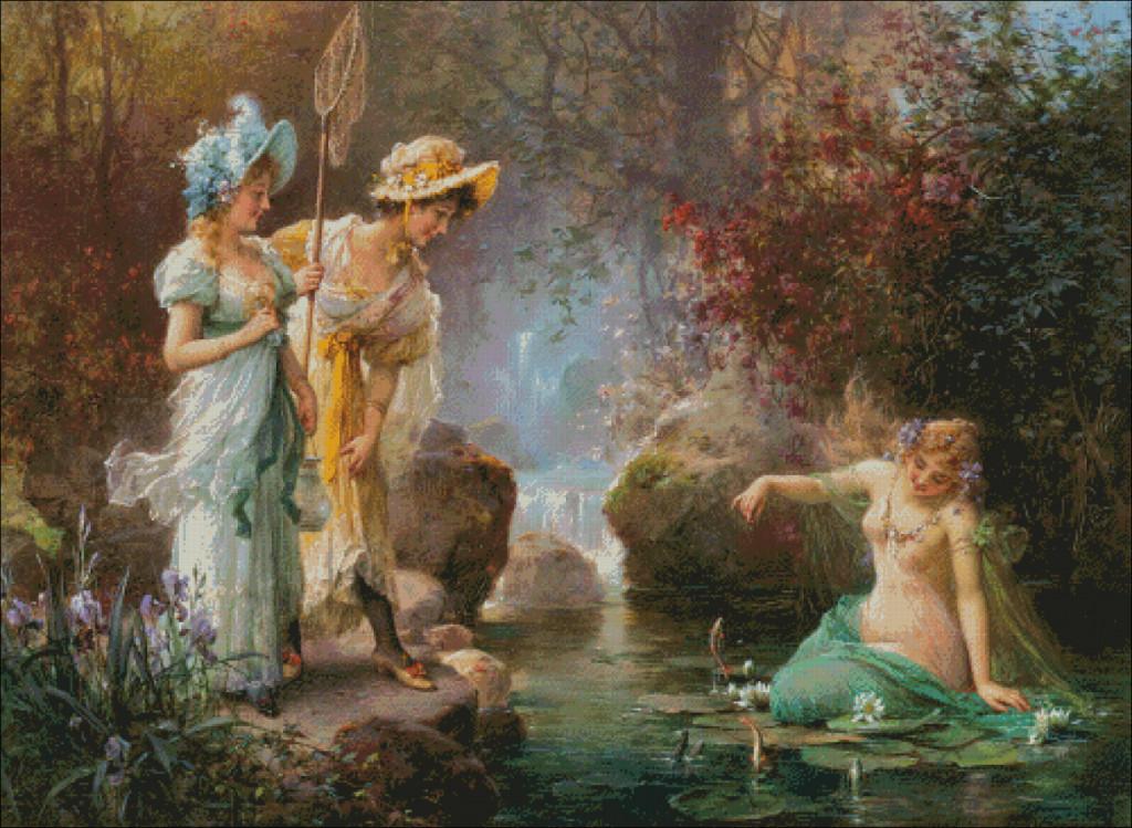 Hans Zatzka -A water idyll