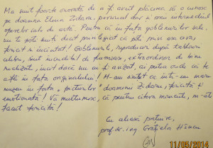 Testimonial Gratiela Hancu