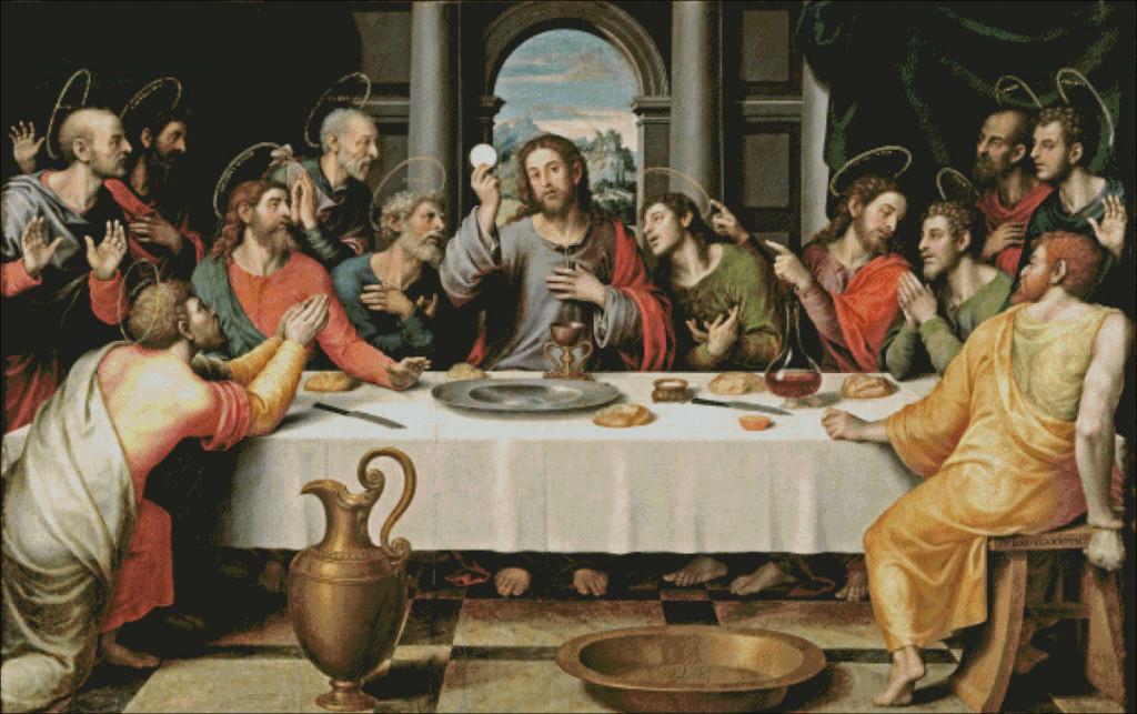 Last Supper by Juan de Juanes