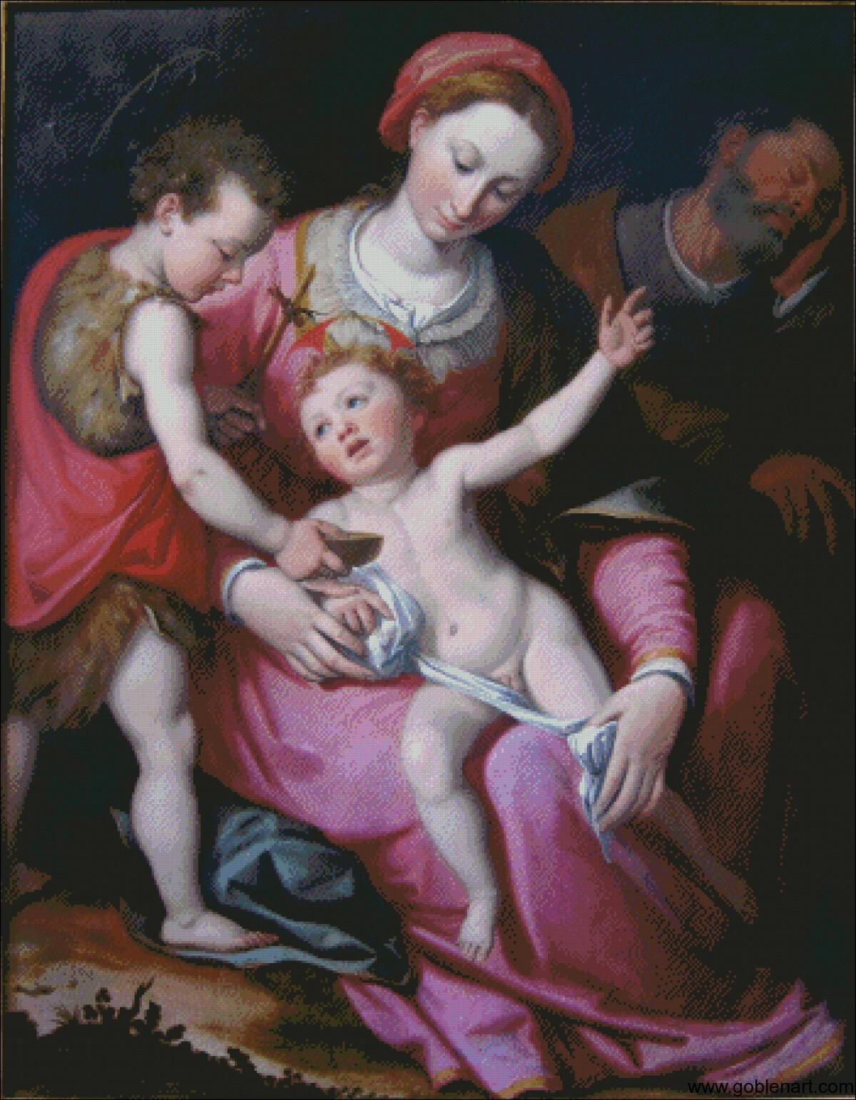 Santi di Tito - Holy Family