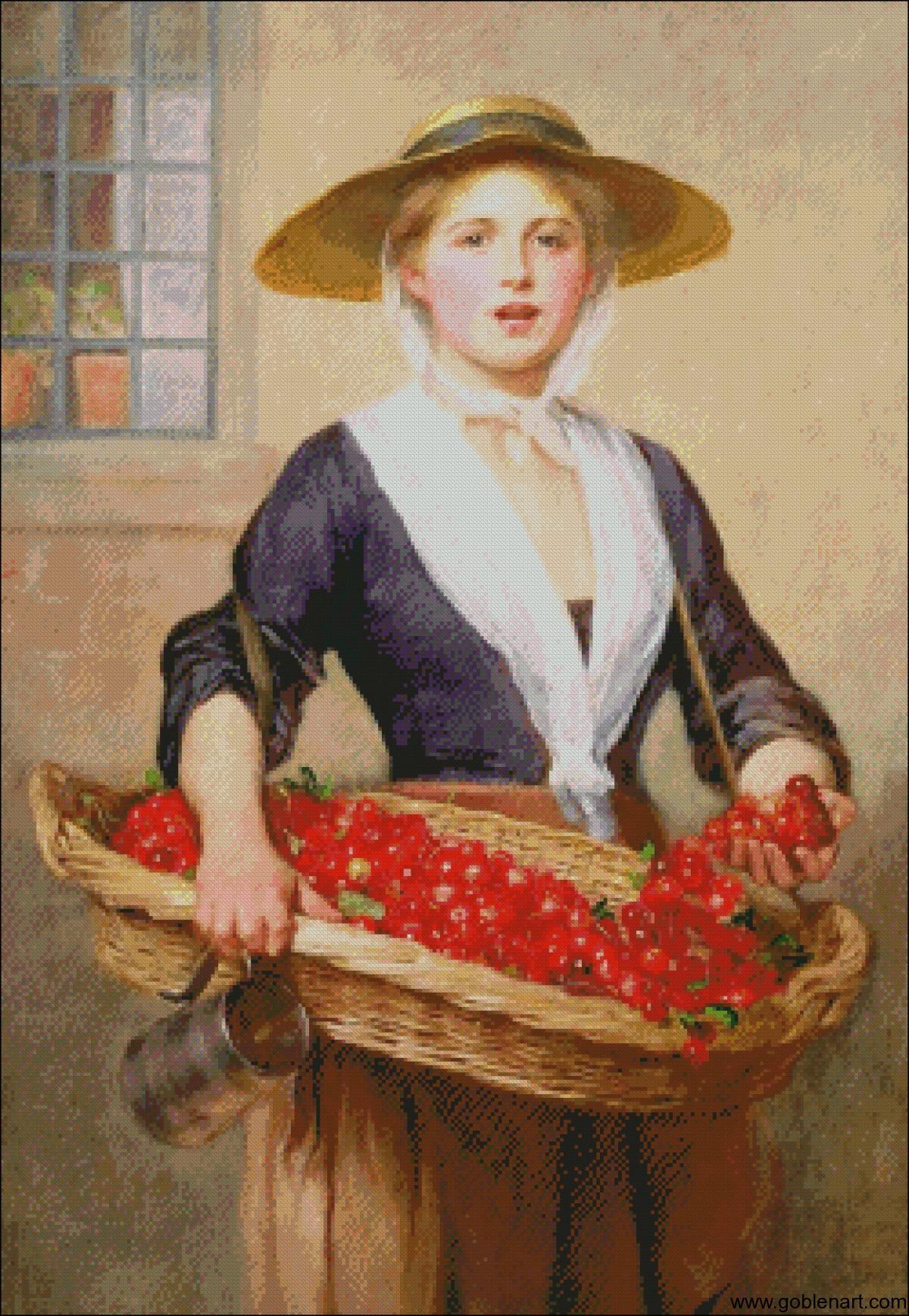 Cherry Ripe - William Frederick Yeames