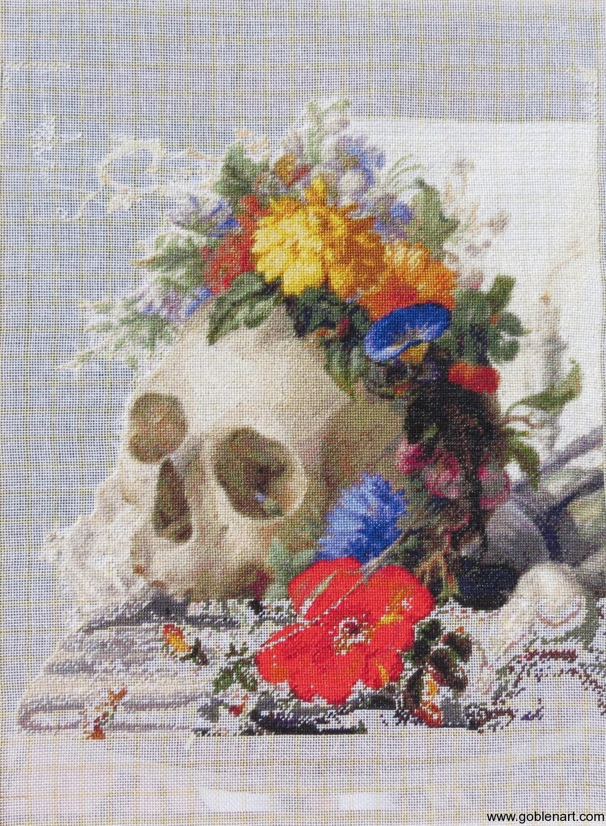 Vanitas Still Life 2 - Herman Henstenburgh
