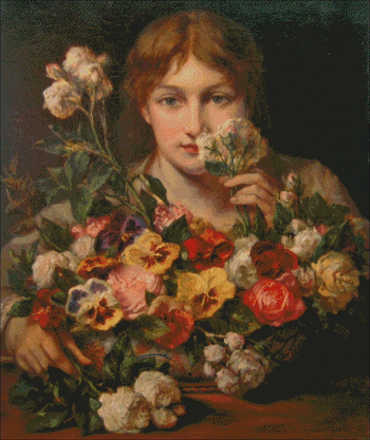 Sweet Flowers - Jean Francois Portaels