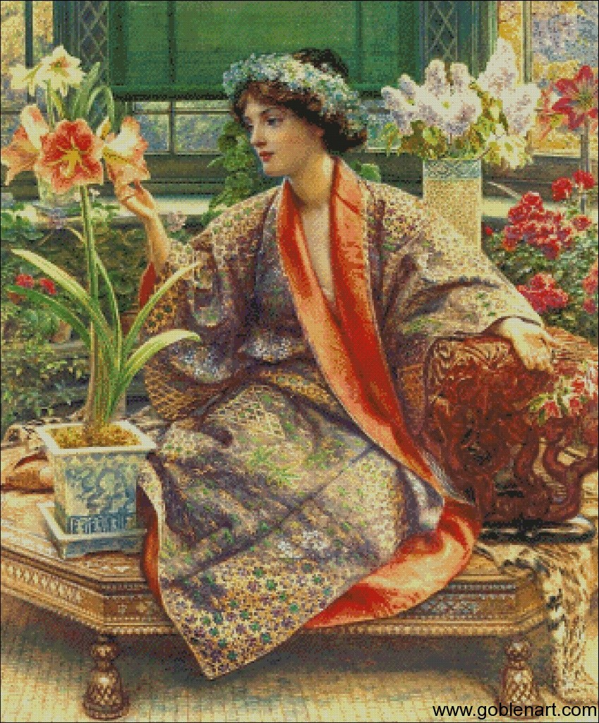 Hot house flower- Sir Edward John Poynter