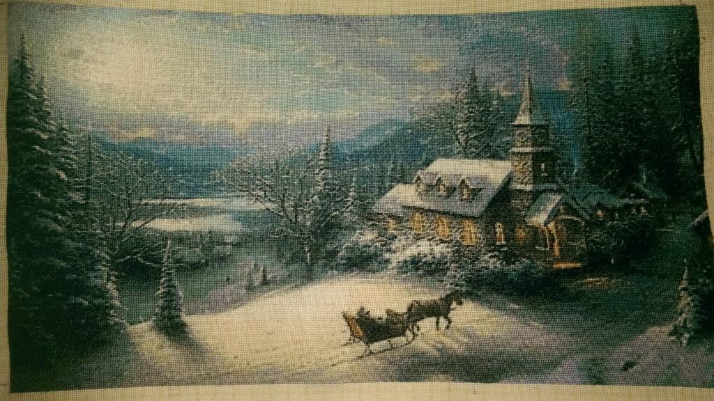 Winter -Thomas Kinkade