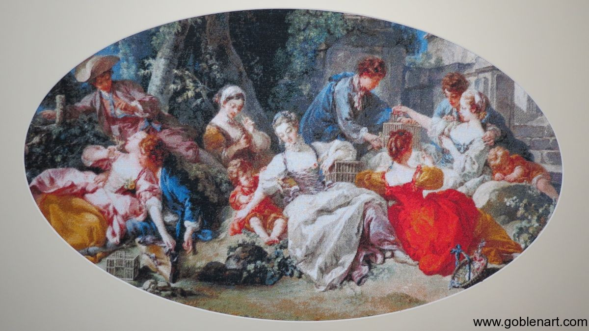 The Bird Catchers - Francois Boucher