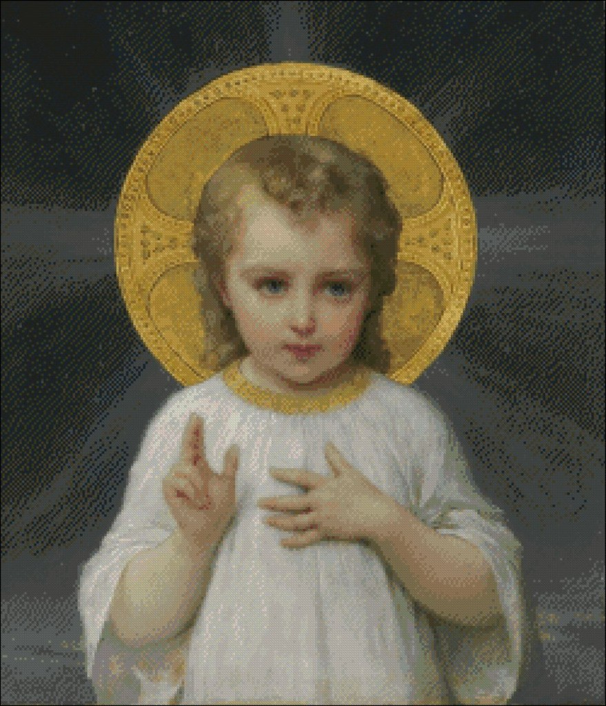 The Holy Child Jesus - Emile Munier