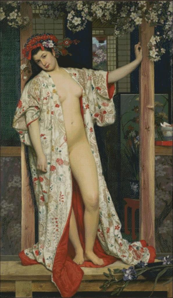 La japanoise au bain - James Tissot