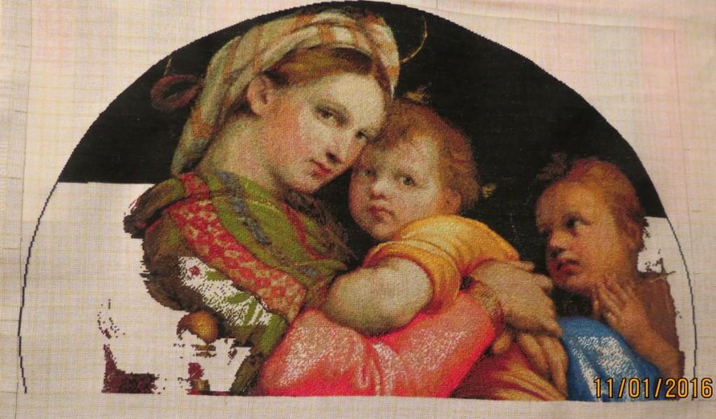 Madonna della Seggiola by Rafael Sanzio