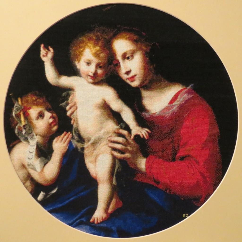 Virgin and Child with the Infant Saint John the Baptist by Carlo Dolci