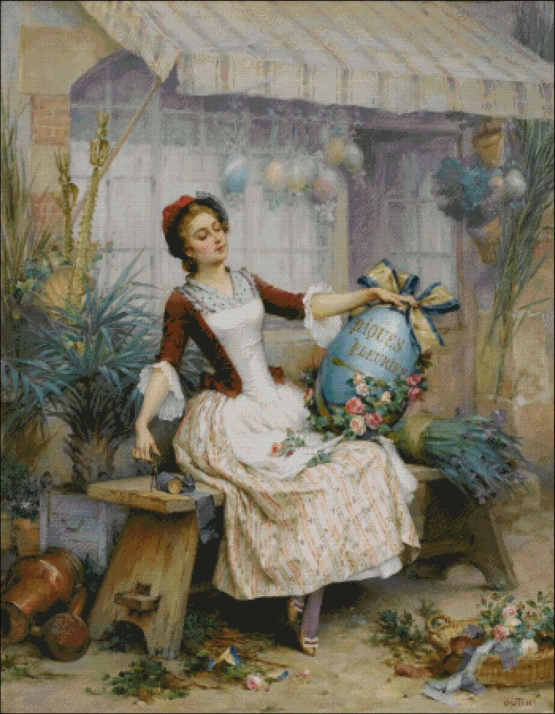 The Easter Egg - Pierre Outin