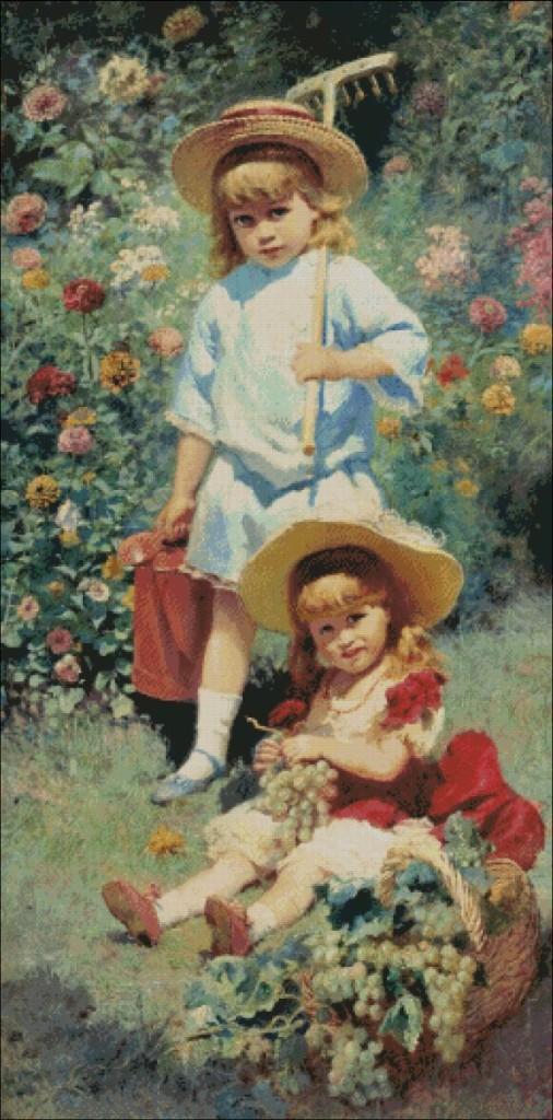 Children - Konstantin Makovsky