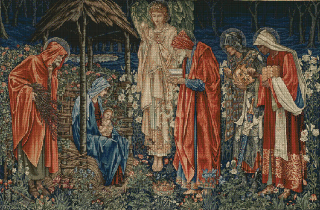 The Adoration of the Magi - Edward Burne-Jones (1833 - 1898)