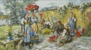 Flower-Girls - Marie Philips Weber