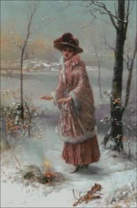 Winter - Emile-Eisman Semenowsky