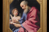 Saint Matthew Writing His Gospel