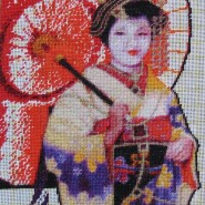 Geisha – sewing period
