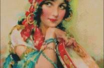 Gypsy – advanced – free patterns, free charts / diagrame gratuite, scheme goblen gratis, modele goblenuri gratis