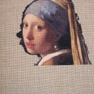 Girl with a pearl earring – sewing period