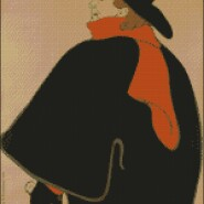 Henry de Toulouse Lautrec – begginer – free patterns, free charts / diagrame gratuite, scheme goblen gratis, modele goblenuri gratis