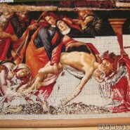 Lamentation of Christ – sewing period