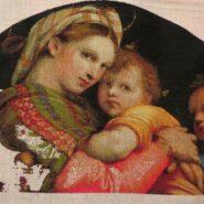 Madonna della Seggiola – sewing period