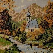 Small convent landscape
