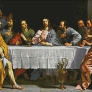 The Last Supper – intermediate – free patterns, free charts / diagrame gratuite, scheme goblen gratis, modele goblenuri gratis