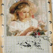 Young florist – sewing period