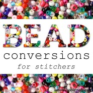 Floss & Bead Conversion Chart